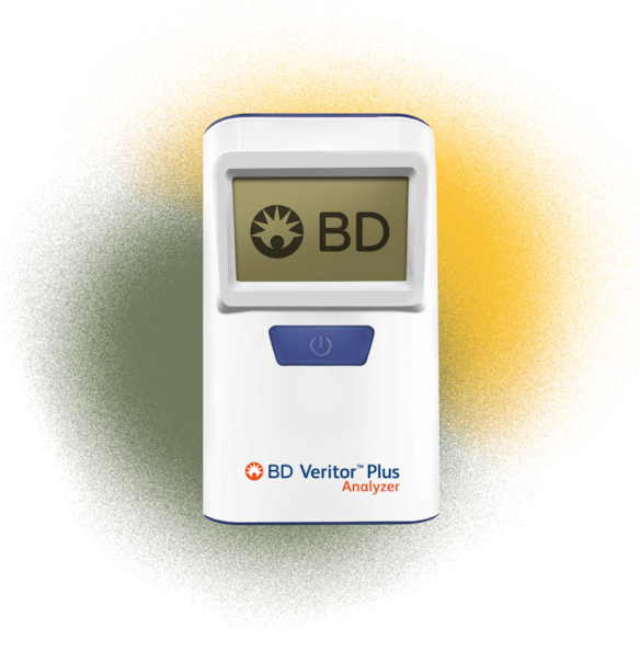 BD Veritor Plus Analyzer Illustration